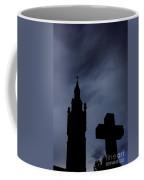 Silhouette Of St. Joseph Coffee Mug