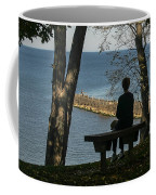Silhouette On The Hill Coffee Mug