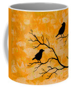 Silhouette Orange Coffee Mug