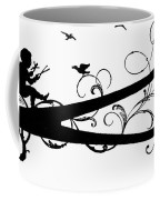 Silhouette Scissors Coffee Mug