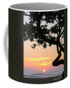 Silhouette Sunrise Coffee Mug
