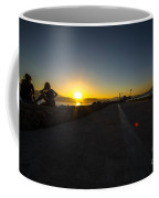 Silhouette Sunset  Coffee Mug