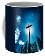 Silhouetted Cross Coffee Mug