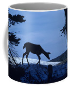 Silhouetted Deer Coffee Mug