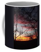 Silhouetted Coffee Mug