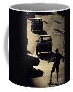 Silhouetted Skateboarder Coffee Mug