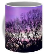 Silhouettes Against Pink Skies Coffee Mug