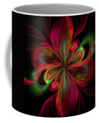 Silk Butterfly Abstract Coffee Mug