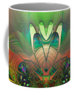 Silk Fan - Abstract  Coffee Mug