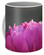 Silky Pink Petals Coffee Mug
