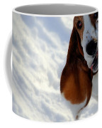Silly Basset Hound  Coffee Mug