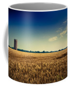 Silo In Wheat Coffee Mug