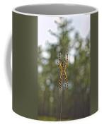Silver Argiope Coffee Mug