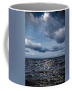 Silver Blue Moon Coffee Mug