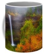 Silver Falls Pano Coffee Mug by Darren  White