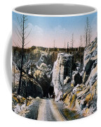 Silver Gate Road Yellowstone Np Coffee Mug