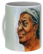 Silver Girl Coffee Mug