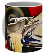 Silver Grayhound Coffee Mug