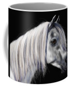 Grey Arabian Mare Painting Coffee Mug