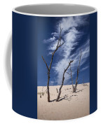Silver Lake Dune With Dead Trees And Cirrus Clouds Coffee Mug