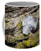 Silver Leaf Coffee Mug