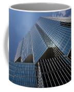 Silver Lines To The Sky - Downtown Toronto Skyscraper Coffee Mug