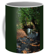 Silver River Channel In Autumn Coffee Mug