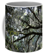 Silver Savannah Tree Coffee Mug
