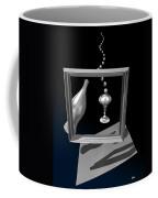 Silver Space Champagne Coffee Mug