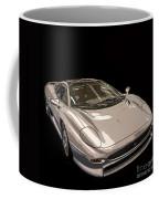 Silver Sports Car Coffee Mug by Edward Fielding