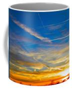Silver Wing Sunset Coffee Mug