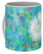 Silverpuff Dandelion Wish Coffee Mug