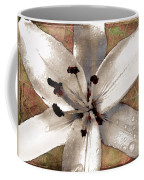 Silvery Asiatic Lily Coffee Mug