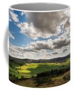 Simonside Hills From Rothbury Terraces Coffee Mug
