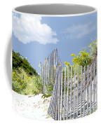 Simplified View Of Coastal Dune Coffee Mug