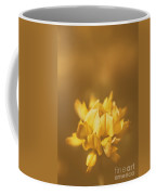 Simplistic Yellow Clover Flower  Coffee Mug