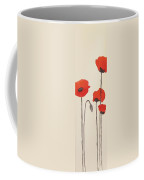 Simply Poppies 2. Coffee Mug