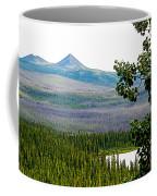 Simpson Peak At Swan Lake-yt Coffee Mug