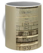 Singapore Cenotaph Monument Yearly Steps For World War Two Coffee Mug