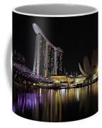 Helix Bridge To Marina Bay Sands Coffee Mug
