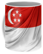 Singaporean Flag Coffee Mug