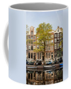 Singel Canal Houses In Amsterdam Coffee Mug