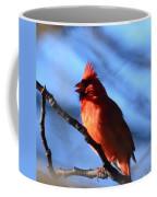 Singing Cardinal Coffee Mug