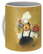 Singing Chef In Gold Coffee Mug