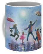 Singing In The Rain Super Hero Kids Coffee Mug