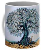 Singing Under The Blues Tree Coffee Mug