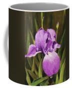 Single Iris Coffee Mug