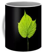 Single Leaf From Raspberry Bush Coffee Mug