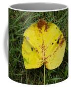Single Leaf Coffee Mug