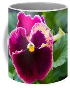 Single Pansy Coffee Mug